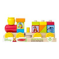Disney Winnie the Pooh & Friends Wooden Stacking Train by Melissa & Doug