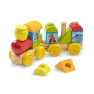 Disney Winnie the Pooh and Friends Wooden Stacking Train by Melissa and Doug