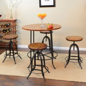 Ryder 2-piece Adjustable Stool Set