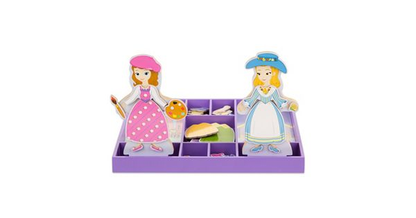 Disney Sofia The First And Princess Amber Wooden Magnetic