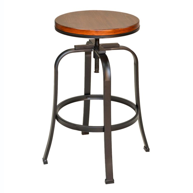 Metal Adjustable Bar Stool Kohl S