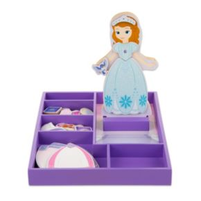 Disney Sofia the First Wooden Magnetic Dress-Up Doll by Melissa and Doug