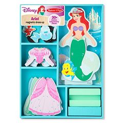 Disney Princess Ariel Wooden Dress-Up Magnets by Melissa & Doug