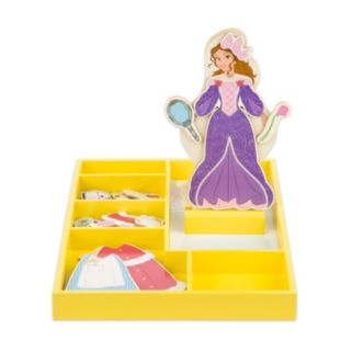 Disney Princess Belle Wooden Magnetic Dress-Up Doll by Melissa and Doug