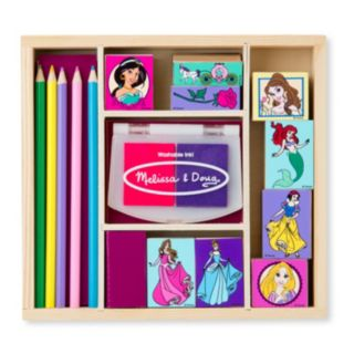 Disney Princess Wooden Stamp Set by Melissa and Doug