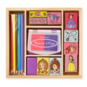 Disney Sofia the First Wooden Stamp Set by Melissa & Doug