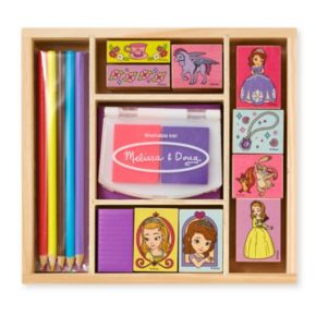 Disney Sofia the First Wooden Stamp Set by Melissa and Doug