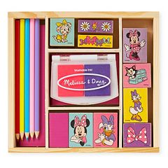 Disney Mickey Mouse & Friends Minnie Mouse Wooden Stamp Set by Melissa & Doug