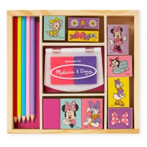 Disney Mickey Mouse and Friends Minnie Mouse Wooden Stamp Set by Melissa and Doug