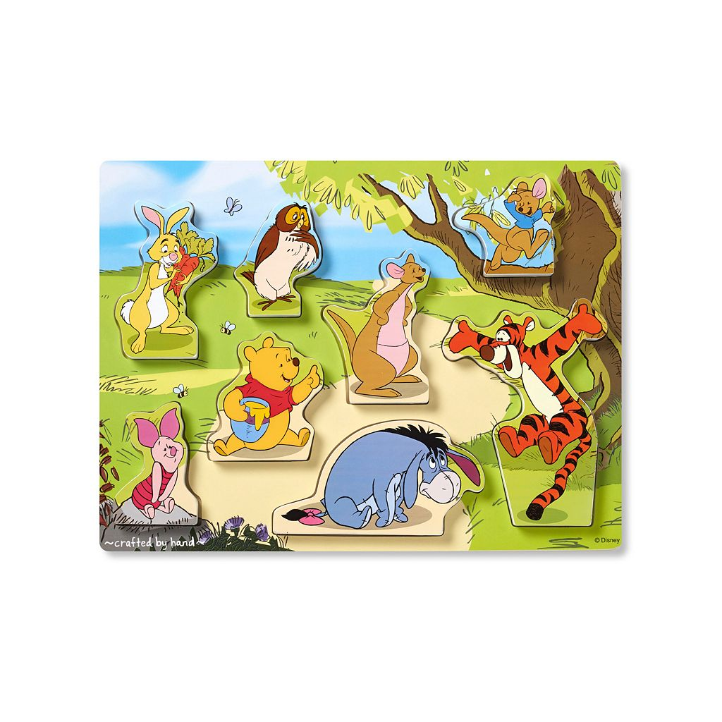 Disney Winnie the Pooh & Friends Chunky Puzzle by Melissa & Doug