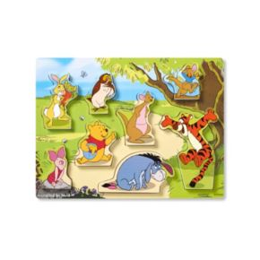 Disney Winnie the Pooh and Friends Chunky Puzzle by Melissa and Doug