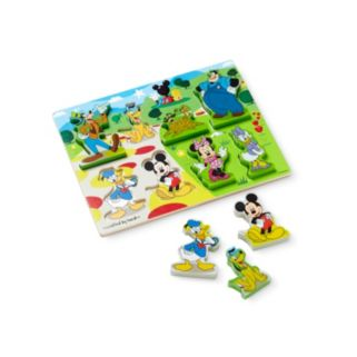 Disney Mickey Mouse Clubhouse Wooden Chunky Puzzle by Melissa and Doug