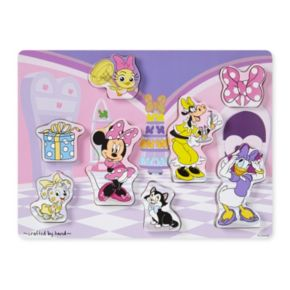 Disney Mickey Mouse and Friends Minnie Mouse Chunky Wooden Puzzle by Melissa and Doug
