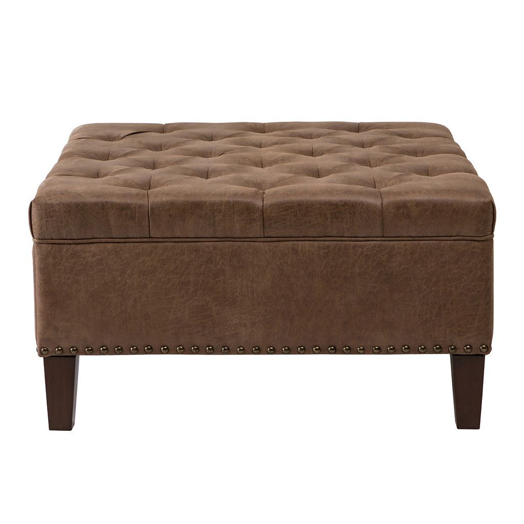 Madison Park Lindsey Tufted Ottoman