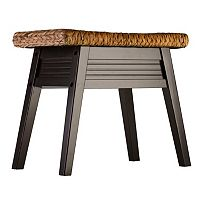 Elegant Home Fashions Weaver Bench
