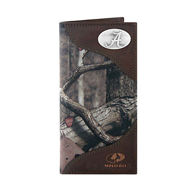 Zep-Pro Alabama Crimson Tide Concho Mossy Oak Secretary Wallet