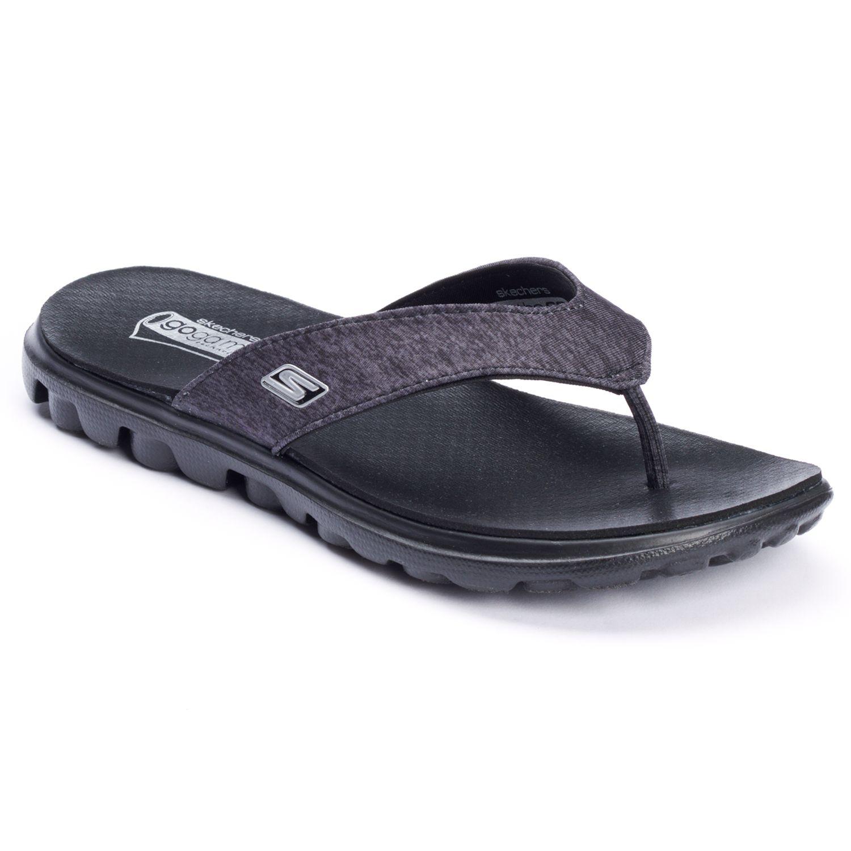 skechers on the go flow ladies flip flops
