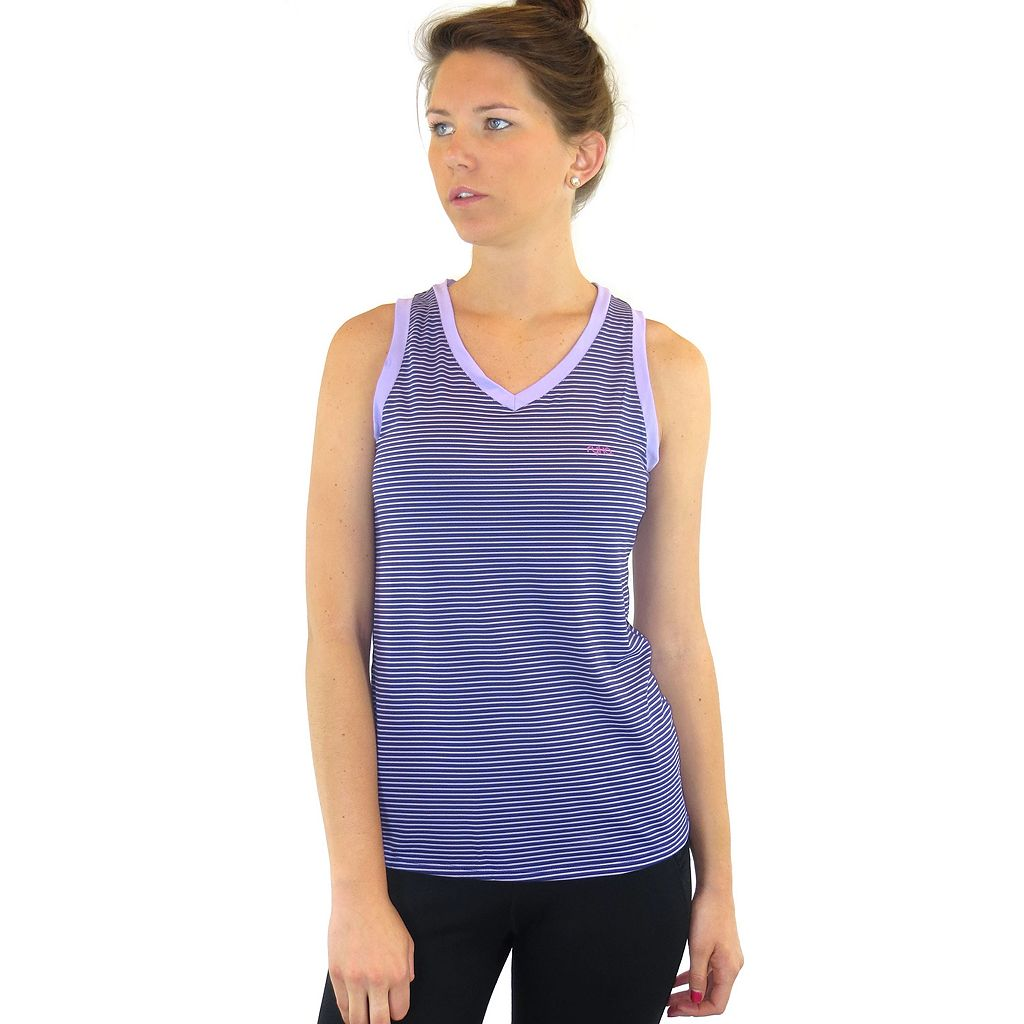 Ryka Triumph Striped Yoga Tank - Women's