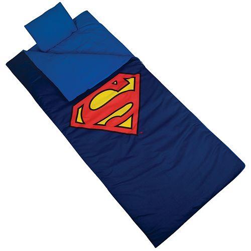 Wildkin Superman Shield Sleeping Bag - Kids