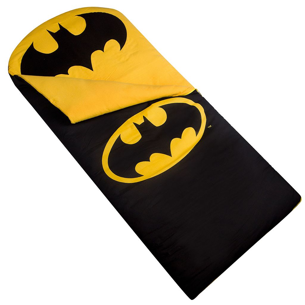 Wildkin Batman Emblem Sleeping Bag
