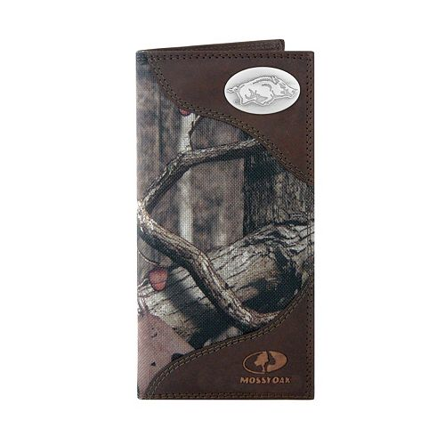 Zep-Pro Arkansas Razorbacks Concho Mossy Oak Secretary Wallet