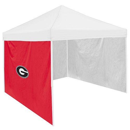 Logo Brand Georgia Bulldogs Tent Side Panel