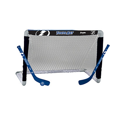 Franklin Tampa Bay Lightning Mini Hockey Goal Set
