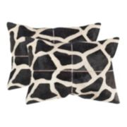 Antonio 2-piece 14'' x 20'' Throw Pillow Set