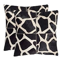 Antonio 2-piece 18'' x 18'' Throw Pillow Set