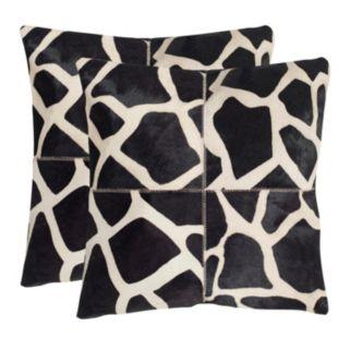 Antonio 2-piece 18'' x 18'' Throw Pillow Set