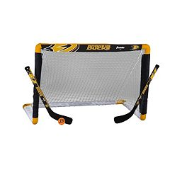 Franklin Sports Anaheim Ducks Mini Hockey Goal Set
