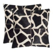Antonio 2-piece 22'' x 22'' Throw Pillow Set