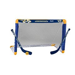 Franklin Nashville Predators Mini Hockey Goal Set