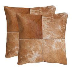 Selma 2 pc 22'' x 22'' Throw Pillow Set