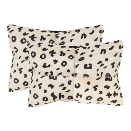 Beau 2-piece 14'' x 20'' Throw Pillow Set
