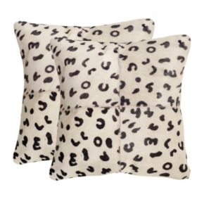 Beau 2-piece 18'' x 18'' Throw Pillow Set