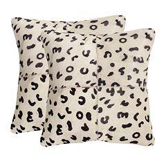 Beau 2-piece 22'' x 22'' Throw Pillow Set