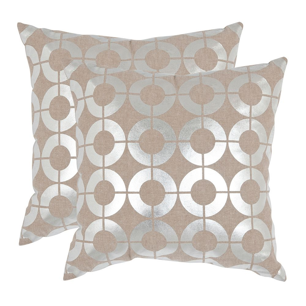 Bailey 2-piece 18'' x 18'' Throw Pillow Set