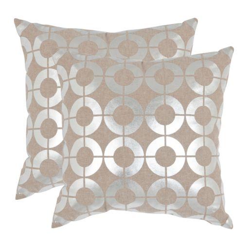 Bailey 2-piece 18'' x 18'' Throw Pillow Set