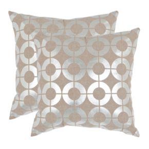Bailey 2-piece 22'' x 22'' Throw Pillow Set