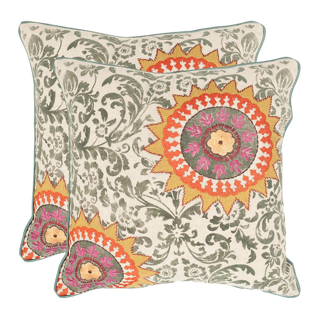 Sunny 2-piece Throw Pillow Set