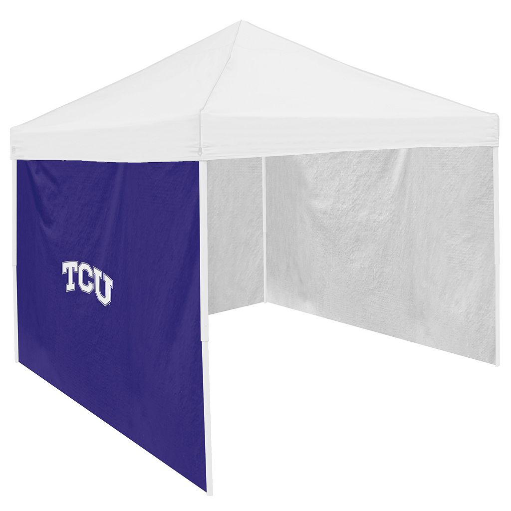Logo Brand TCU Horned Frogs Tent Side Panel