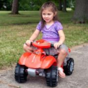 Lil' Rider Red Raptor Mini Quad Ride-On Four Wheeler
