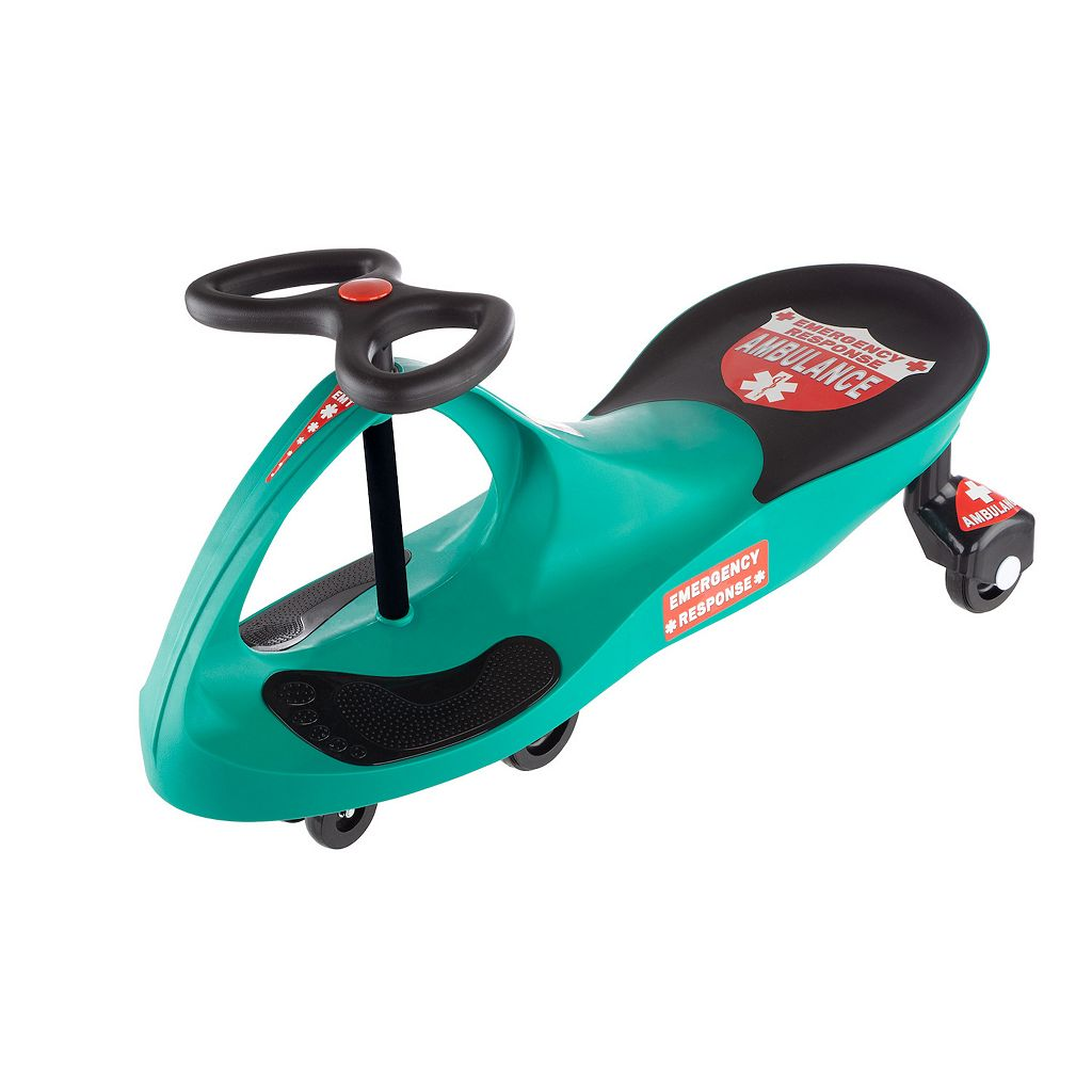 Lil' Rider Responder Ambulance Wiggle Ride-On Car