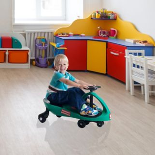 Lil' Rider Responder Ambulance Wiggle Ride-On Car