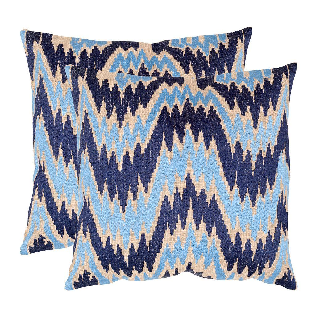 Adam 2-piece 18'' x 18'' Throw Pillow Set