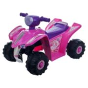 Lil' Rider Pink Princess Mini Quad Ride-On Four Wheeler