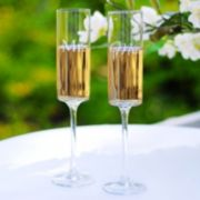 Cathy's Concepts Mr. & Mrs. 2-pc. Contemporary Champagne Flute Set