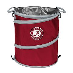 Logo Brand Alabama Crimson Tide Collapsible 3-in-1 Trashcan Cooler