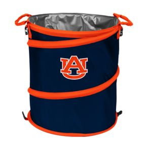 Logo Brand Auburn Tigers Collapsible 3-in-1 Trashcan Cooler